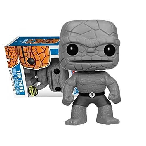 Pop Marvel The Thing Fantastic Four # 09 Figura De Vinilo Figuras De Acción Colección Modelo Juguetes Regalo