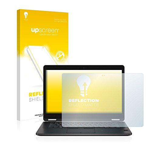 upscreen Entspiegelungs-Schutzfolie kompatibel mit Dell Latitude 14 E7470 Touch – Anti-Reflex Bildschirmschutz-Folie Matt