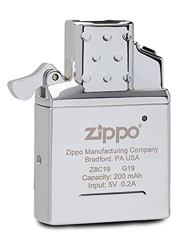 Zippo - Inserto ricaricabile in metallo, colore: argento, taglia unica