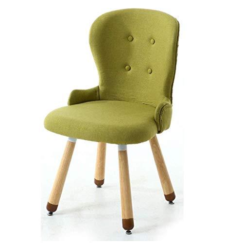 WYBW Matstol för hemmet, innovativa matstolar, tygklädda kökstolar med hög rygg, sovrum vardagsrum träben restaurang hotell mötesrum, E, 1
