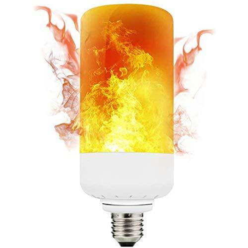 Preisvergleich Produktbild LED Flamme Glühbirne E27 wasserdichte Tragbare Soft Light Flash Flamme Effekt Glühbirne Einstellbare Dekorative Blitzlampe Mit 3 Modi,  Geeignet Für Bar Weihnachtsfeier Weihnachtsdekoration, E14, 2W