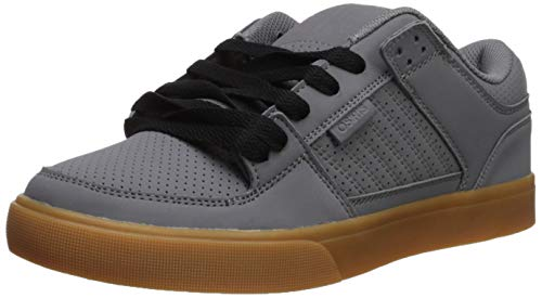 Osiris Men's Protocol Skate Shoe, Charcoal/Black/Gum, 6 M US