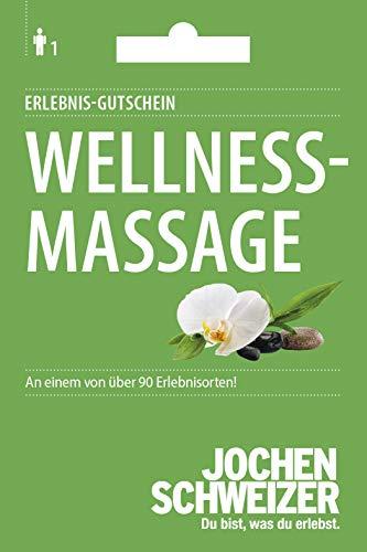 Jochen Schweizer Erlebnis-Gutschein 'Wellness-Massage', über 70 Erlebnisorte, Geschenkidee
