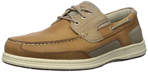 Dockers Men's Beacon Boat Shoe, Tan/Taupe, 10