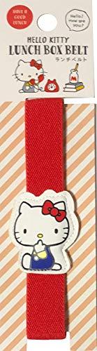Sanrio Hello Kitty Bento - Fiambreras planas elásticas (24 cm), color rojo