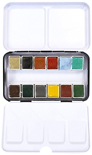 Prima Marketing Watercolor Confections: Woodlands, 12 Count