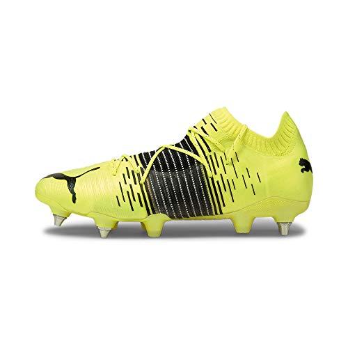 Puma Future Z 1.1 MXSG, Zapatillas de fútbol Hombre, Yellow Alert Black White, 45 EU