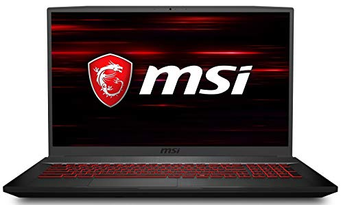 MSI GF75 Thin 9SC-278 17.3' 120Hz FHD Gaming Laptop, Intel Core i7-9750H, NVIDIA GTX 1650, 16GB, 512GB Nvme SSD, Win10