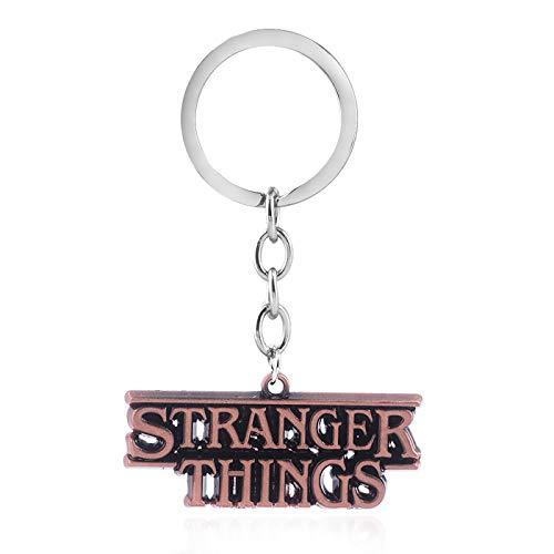 PSL Llavero de metal con diseño de Stranger Things