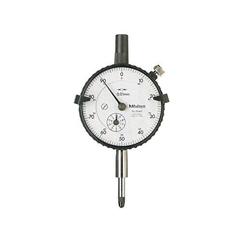Mitutoyo Reloj comparador DIN 878, rango de medición 10mm, lectura de...