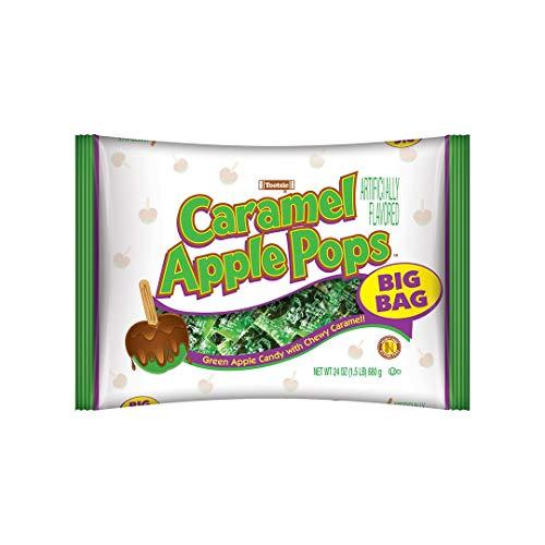 Tootsie Roll Tootsie Roll Caramel Apple Pops, Big Bag, 24 Ounce , 24 Ounce