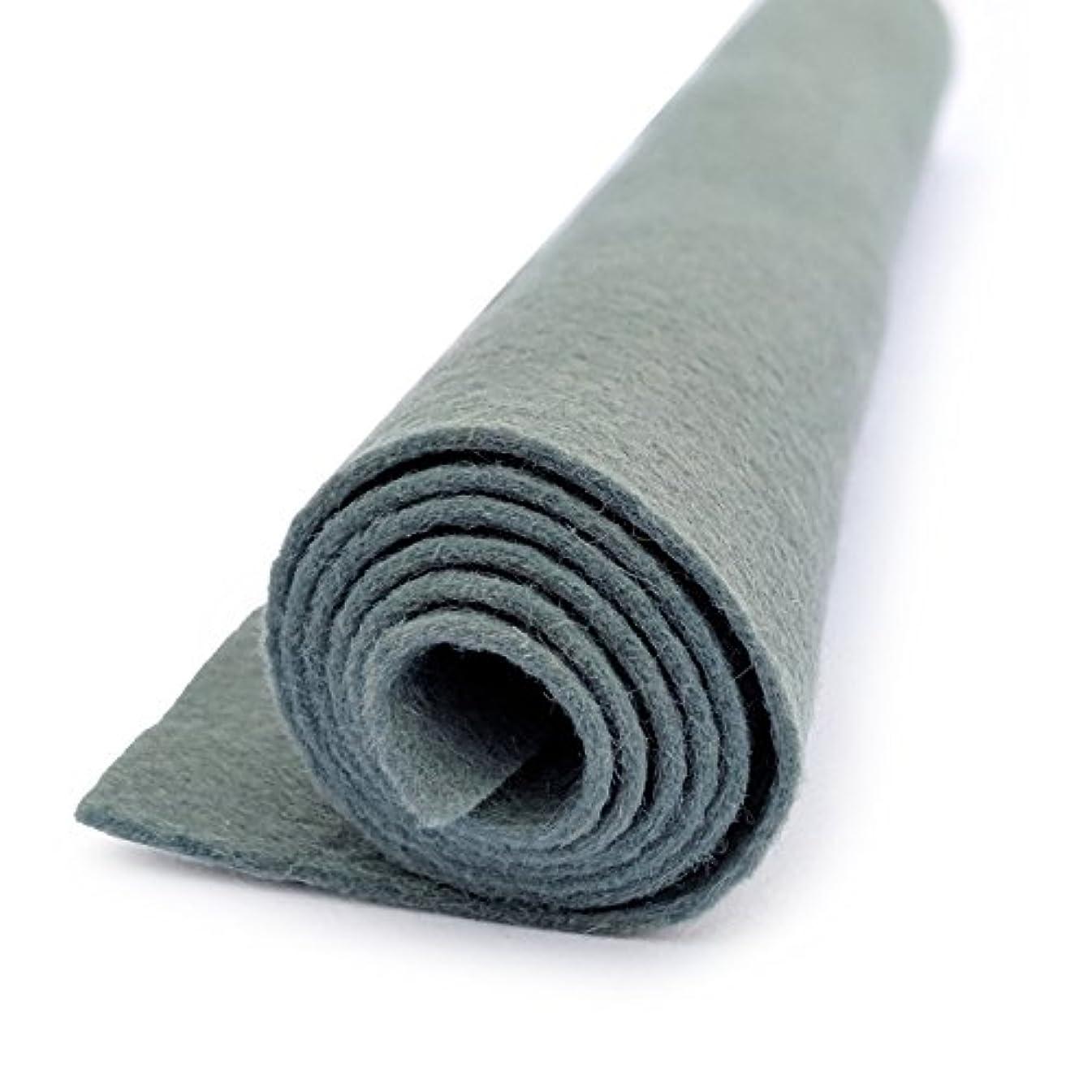 Confederate Blue - Wool Felt Oversized Sheet - 35% Wool Blend - 3 12x18 inch sheets