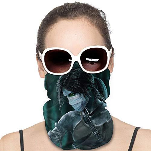 Yellowbiubiubiu Lara Croft Tomb Raider Juego Variedad Turbante Bufanda de protección contra el polvo para hombres y mujeres, cubierta de cuello polainas para el verano, ciclismo, senderismo, pesca, deportes al aire libre