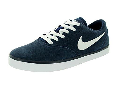 Zapatillas de tenis Nike SB Check Cnvs Obsidian / White Skate 9 Men US