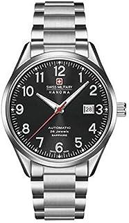 Swiss Military Hanowa - Reloj Analógico para Hombre de Cuarzo con Correa en Acero Inoxidable 05-5287.04.007