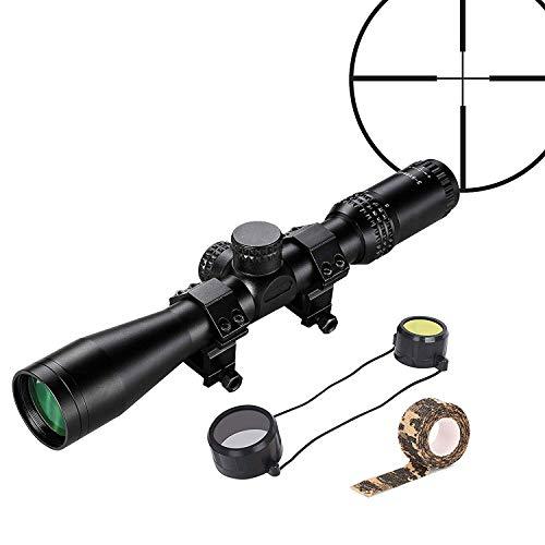 ESSLNB Zielfernrohr Luftgewehr 22mm Montage 3-9x44 AOEG Randlose Technologie für Armbrust Jagd und Softair