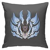 Matasleno Funda de almohada para videojuegos, diseño de armas y armaduras