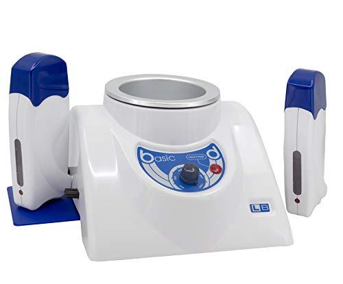 EpilWax- epilateur electrique femme- chauffe cire epilation professionnelle combiné - Grande Cuve pour pot 800 ml et 2 Chauffe cire pour Roll-On epilation de cire epilation professionnelle 100 ml