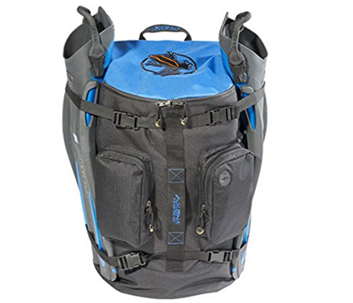 AKONA Globetrotter All-in-One Carry-On Backpack - Blue