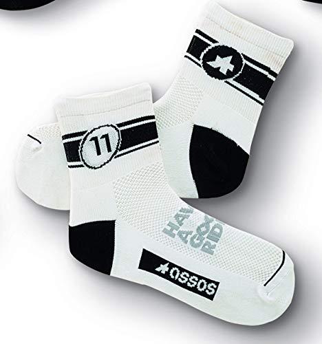 assos 6-Tages-Socken, Schwarz - 0 - (EU 35-38)