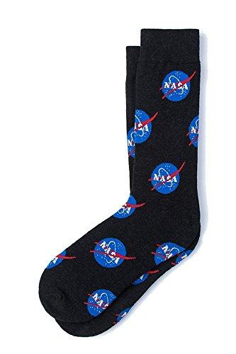 Men's Nasa Logo Space Official NASA Officially Licensed Novelty Crew Dress...