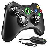 Zexrow Wireless Controller per Xbox 360, 2.4GHZ Game Controller Gamepad Enhanced Joystick Joypad Remote supporto Xbox e Slim 360 PC Windows 7, 8, 10