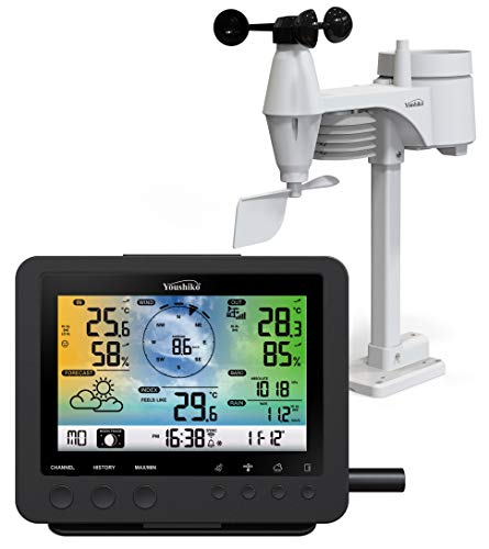 Weather Station ( Premium Quality / Official UK Version) WiFi Internet Wunderground...