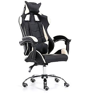 Yang baby Gaming Chair, High Back Office Chair Silla de Escritorio Racing Chair Silla reclinable Computer Chair Silla giratoria PC Chair