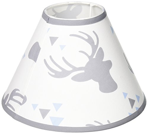 GEENNY Lamp Shade Without Base, Woodland Deer Arrow, Multi-Colors, Crib