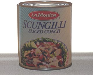 Lamonica Fine Foods Scungilli, Sliced Conch, 29-Ounce