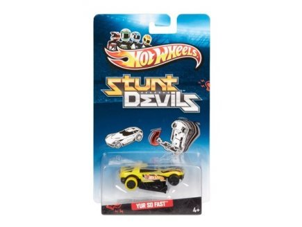 Hot Wheels Voiture yur So Fast - Stunt Devils - vehicule cascadeurs