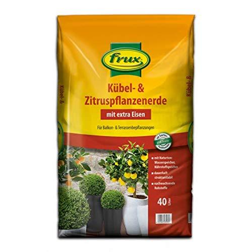 frux Kübel- & Zitruspflanzenerde -mit extra Eisen- 40 Liter