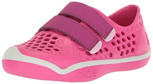 plae Girls' Mimo Water Shoe, Fuchsia Purple, 4 Regular US Big Kid