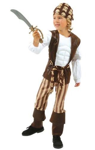Cesar - B057-007 - Déguisement Pirate Musclé