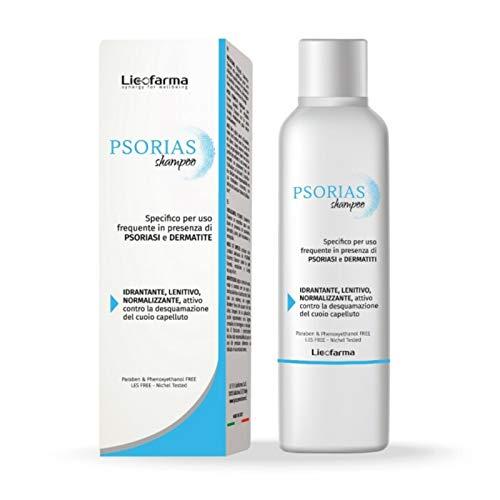 Psorias Shampoo Delicato 99% Ingredienti Naturali Utile in caso di Psoriasi e Dermatiti del Cuoio Capelluto