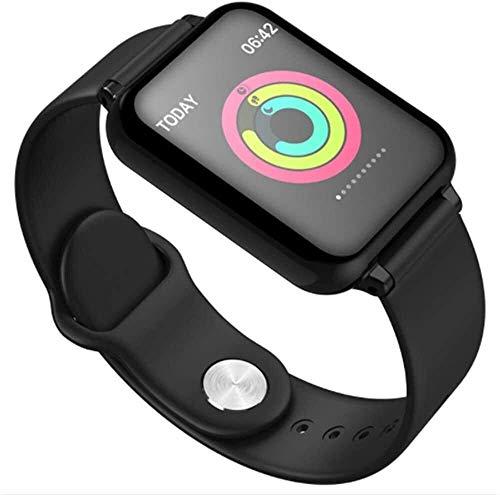 Gymqian Fitness Tracker Sports Watch, Pulsera Inteligente Impermeable Ip67, una Variedad de Funciones Deportivas Monitoreo de Frecuencia Cardíaca Monitoreo de la Presión Arterial, Pantalla 1.3 P
