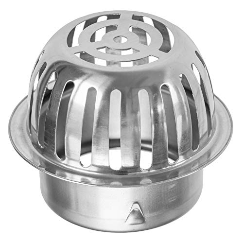 Laubfanggitter & Fallrohrgitter aus V4A Edelstahl Fallrohrgröße: Ø100mm oder Ø150mm wählbar (Ø100mm)