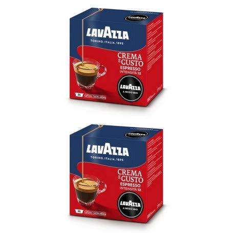 Lavazza A Modo Mio Espresso Crema e Gusto, Kaffee, Kaffeekapseln, Arabica, 80 Kapseln
