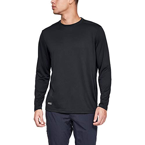 Under Armour Men's Tactical Tech Long-Sleeve Shirt , Dark Navy Blue (465)/Dark Navy Blue , XX-Large