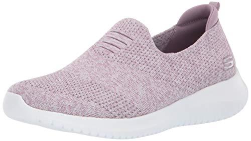 Skechers womens Ultra Flex - Harmonious Sneaker, Lavender, 7.5 US