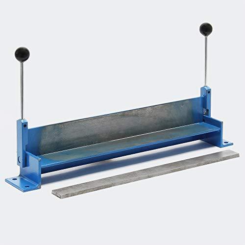 WilTec Plieuse de tôle Manuelle Longueur 760 mm (30') Max. Angle de Pliage 90° Appareil de cintrage Atelier