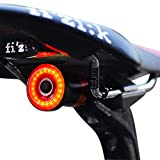 1 one enjoy Luce Posteriore Smart Bike Ultra Bright, Luce accendisigari Ricaricabile per Moto, IPX6 Luci LED...