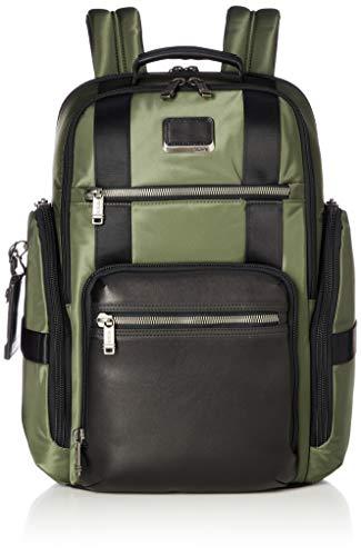 TUMI - Alpha Bravo Sheppard Deluxe Brief Pack Laptop-Rucksack – 15 Zoll Computertasche für Damen und Herren – Forest