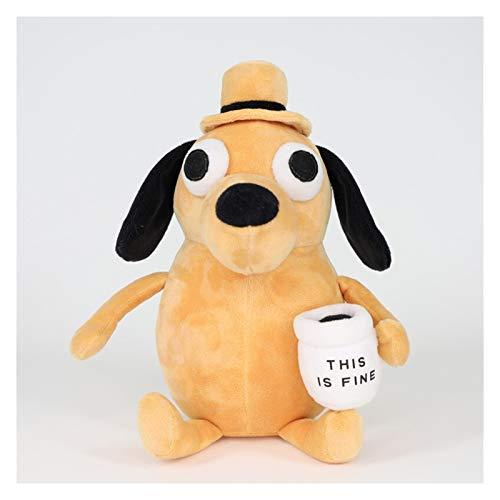 XINGYAO Plüschtiere Dies ist EIN feines Meme-Kaffee-Hunde-Plüschspielzeug weiche gefüllte Puppe gefüllte Plüschtiere Kinder Spielzeug Geschenk für Kinder Jungen Geburtstag (Color : 25cm)