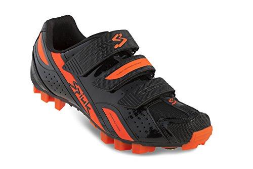 Spiuk Rocca MTB - Zapatillas unisex, color negro / naranja, talla 43