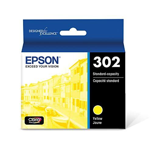 Epson T302 Claria Premium Standard-Capacity Ink Cartridge - Yellow