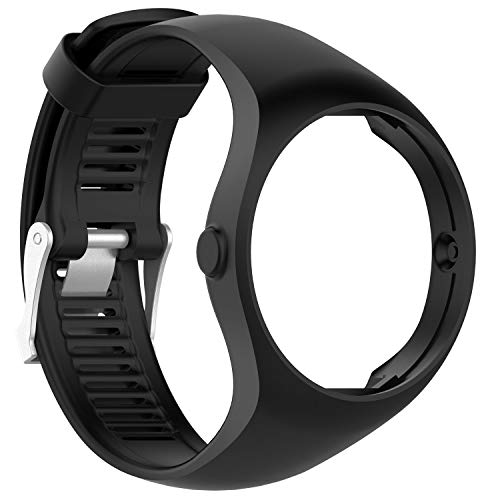QGHXO Band for Polar M200, Soft Adjustable Silicone Replacement Wrist Band for Polar M200