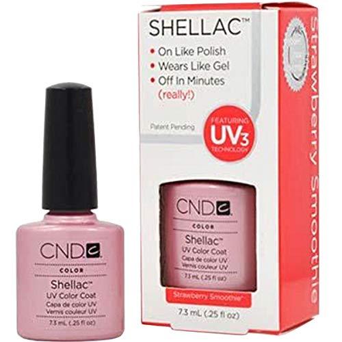 CND Shellac Vernis à Ongles Gel Strawberry Smoothie 7,3 ml