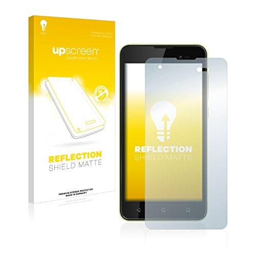 upscreen Entspiegelungs-Schutzfolie kompatibel mit Wiko Sunny 2 Plus – Anti-Reflex Bildschirmschutz-Folie Matt