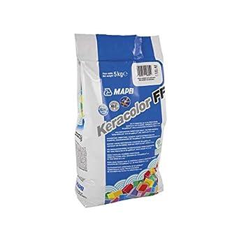 Foto di Mapei Keracolor 110 FF grigio manhattan 2000 sacchi da kg 5-Malta ad alte prestazioni,idrorepellente, stuccatura di fughe fino a 6 mm - per interno e esterno di pavimenti e rivestimenti di ogni tipo